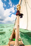 Traditional boat sailing Royalty Free Stock Photography