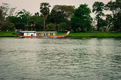 Traditional boat in Vietnam Royalty Free Stock Photos