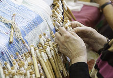Traditional Bobbin Lace Stock Images