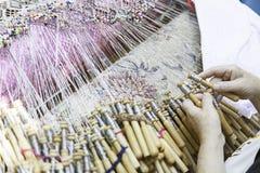 Traditional Bobbin Lace Stock Image