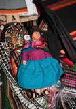 Traditional Bolivian rag doll Royalty Free Stock Images