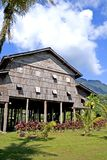 Traditional Borneo Native House Royalty Free Stock Image