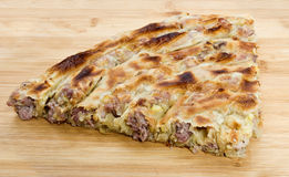 Traditional bosnian burek Royalty Free Stock Images