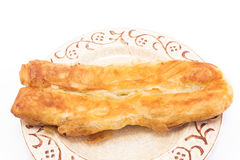 Traditional Bosnian cheese pie - burek Royalty Free Stock Photos
