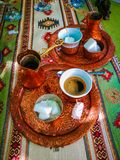 Traditional bosnian coffee stock images