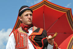 Traditional Bosnian Male Dress Royalty Free Stock Photography