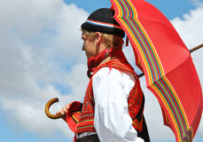 Traditional Bosnian Male Dress Stock Photography