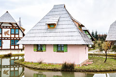 Traditional Bosnian old vintage house or cabin Royalty Free Stock Image