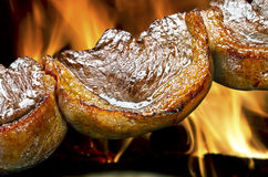Traditional Brazilian barbecue Stock Images