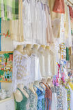Traditional Brazilian Clothes on Sell Natal Brazil Stock Image
