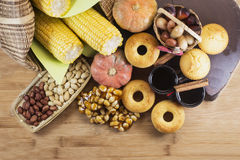 Traditional Brazilian food. For June feast stock photography