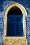 Traditional Brazilian Tile work and Window Stock Photos