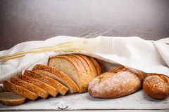 Traditional bread Stock Image