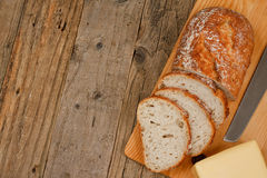 Traditional bread background Royalty Free Stock Images