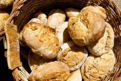 Traditional bread from Mediterranean spain Stock Image