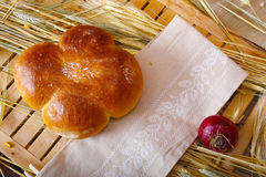 Traditional bread roll Stock Images