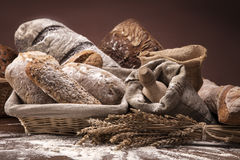 Traditional bread Stock Images