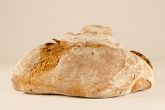 Traditional bread on white background Royalty Free Stock Image
