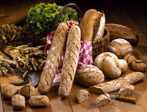 Traditional breads Royalty Free Stock Image