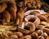 Traditional breads stock photography