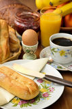 Traditional breakfast Royalty Free Stock Photo