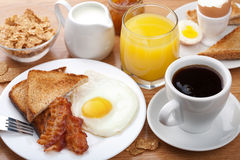 Traditional breakfast Stock Photography