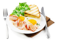 Traditional breakfast Royalty Free Stock Images