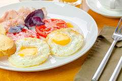 Traditional breakfast Royalty Free Stock Photography