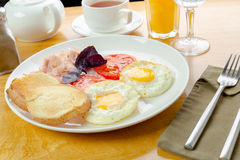 Traditional breakfast Royalty Free Stock Photo