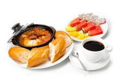 Traditional breakfast. Royalty Free Stock Images