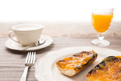Traditional breakfast Royalty Free Stock Image