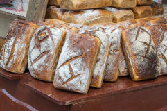Traditional breds at St. Dominic`s Fair in Gdansk, Poland. Stock Photos