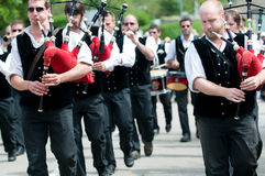 Traditional breton festival in beuzec Stock Image