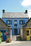 Traditional breton houses Stock Photos