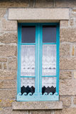 Traditional breton window , French Stock Photos
