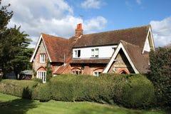 Traditional Brick and Flint English House Royalty Free Stock Image