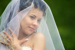 Traditional bride Royalty Free Stock Photos