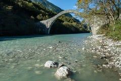 Traditional bridge in Greece Royalty Free Stock Photo