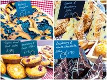 Traditional British cakes Stock Image