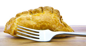 A traditional British Cornish Pasty Stock Photo