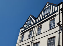 Traditional british house in Walsall city center Stock Photography