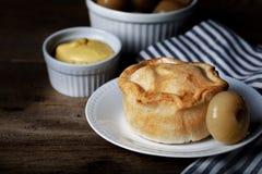 Traditional British Pork Pie Stock Photo