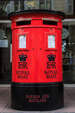 Traditional British postbox Stock Photos