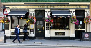 Traditional British pub Royalty Free Stock Photography