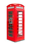 Traditional British public phonebox Stock Photos