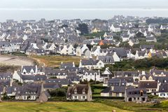 Traditional Brittany houses Stock Images