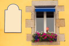 Traditional Brittany window Royalty Free Stock Image