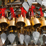 Traditional Buddhist wind bells. Myanmar (Burma) Stock Photography