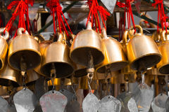 Traditional Buddhist wind bells. Myanmar (Burma) Stock Photo