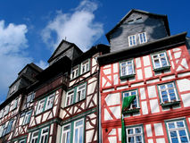 Traditional building. In Butzbach, Germany royalty free stock photo